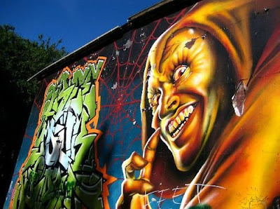 Amazing Graffiti Design Walls