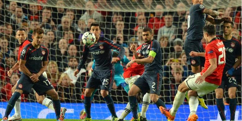 Hasil Skor Akhir Manchester United vs Olympiakos 20 Maret 2014