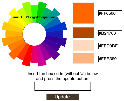 Color Code Generator Tool - For Getting Six Digits Of Any Color