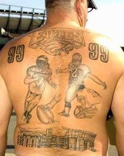 philadelphia, eagles, tattoo, football, nfl, bad