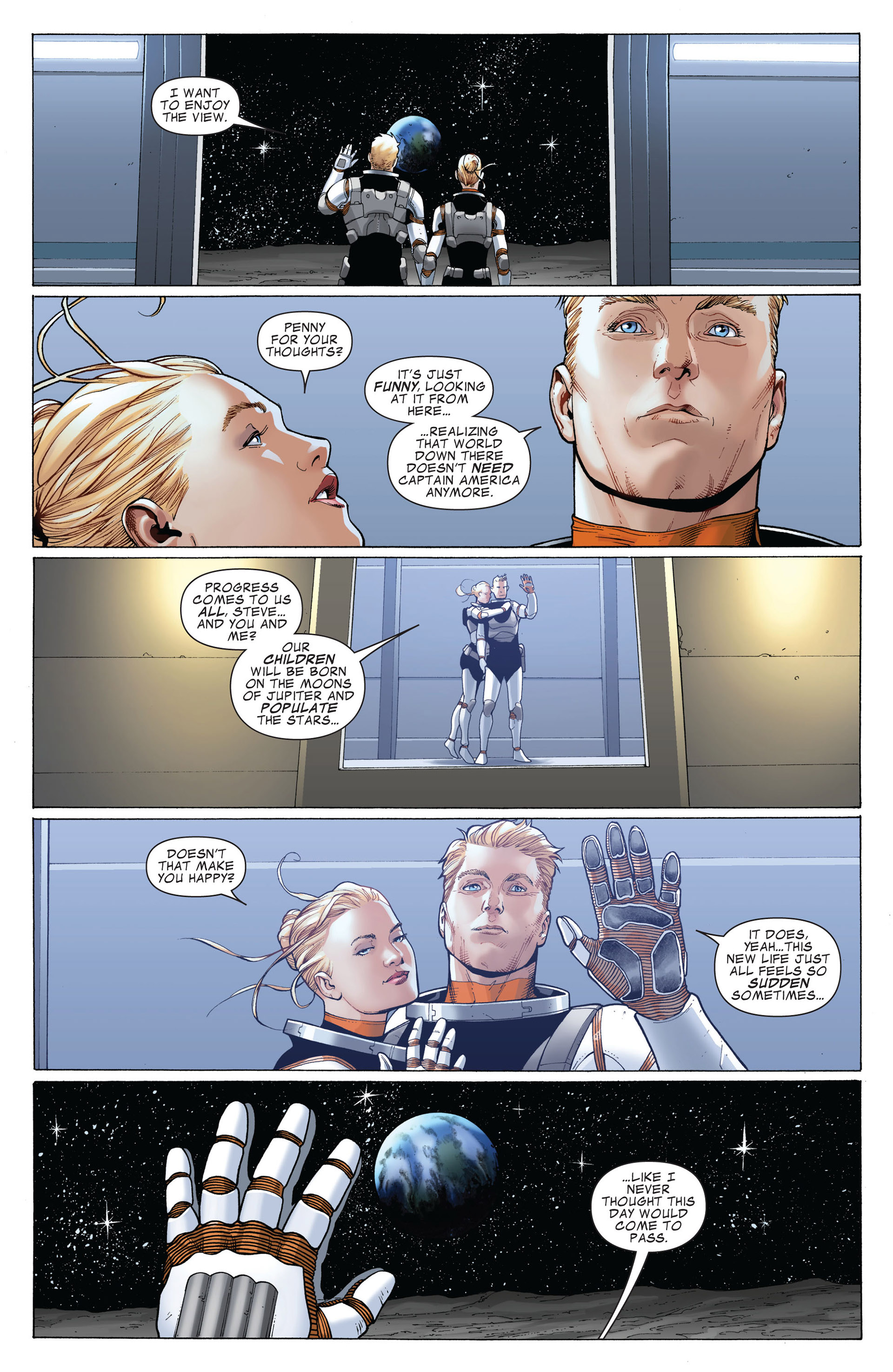 Captain America (2011) Issue #4 #4 - English 5