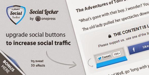 Ajouter Social Content Locker Pour Blogger