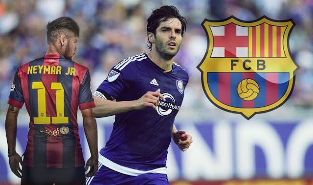 Kaká poderia reforçar o Barcelona em Janeiro