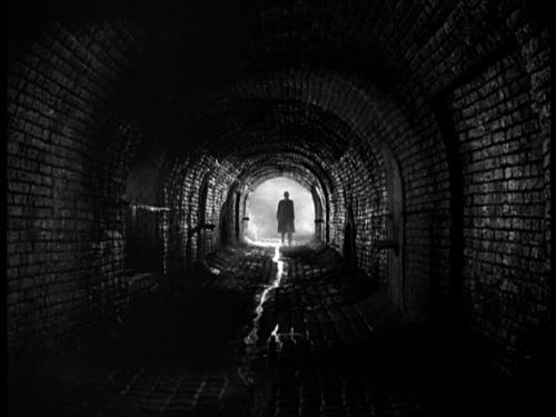Image result for the third man sewer scene