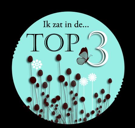 Ik zat in de top 3!! j'étais dans le top 3