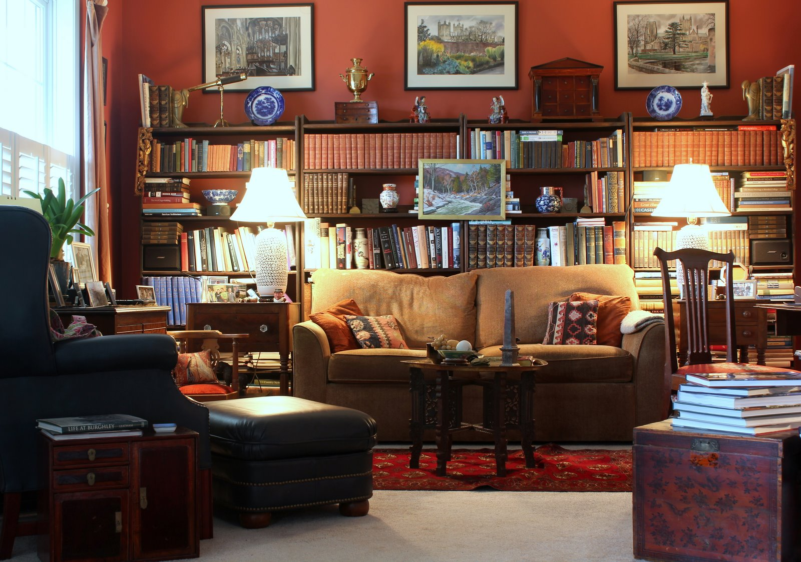 1000 Images About Home Library On Pinterest Reading