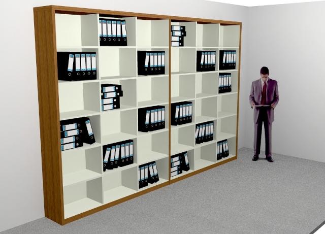 Lemari Dokumen - Rak File (Arsip) - Filling Cabinet - Furniture Kantor (Office) Semarang