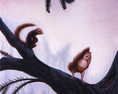 squirrels 2 Brain tickling optical illusions ever