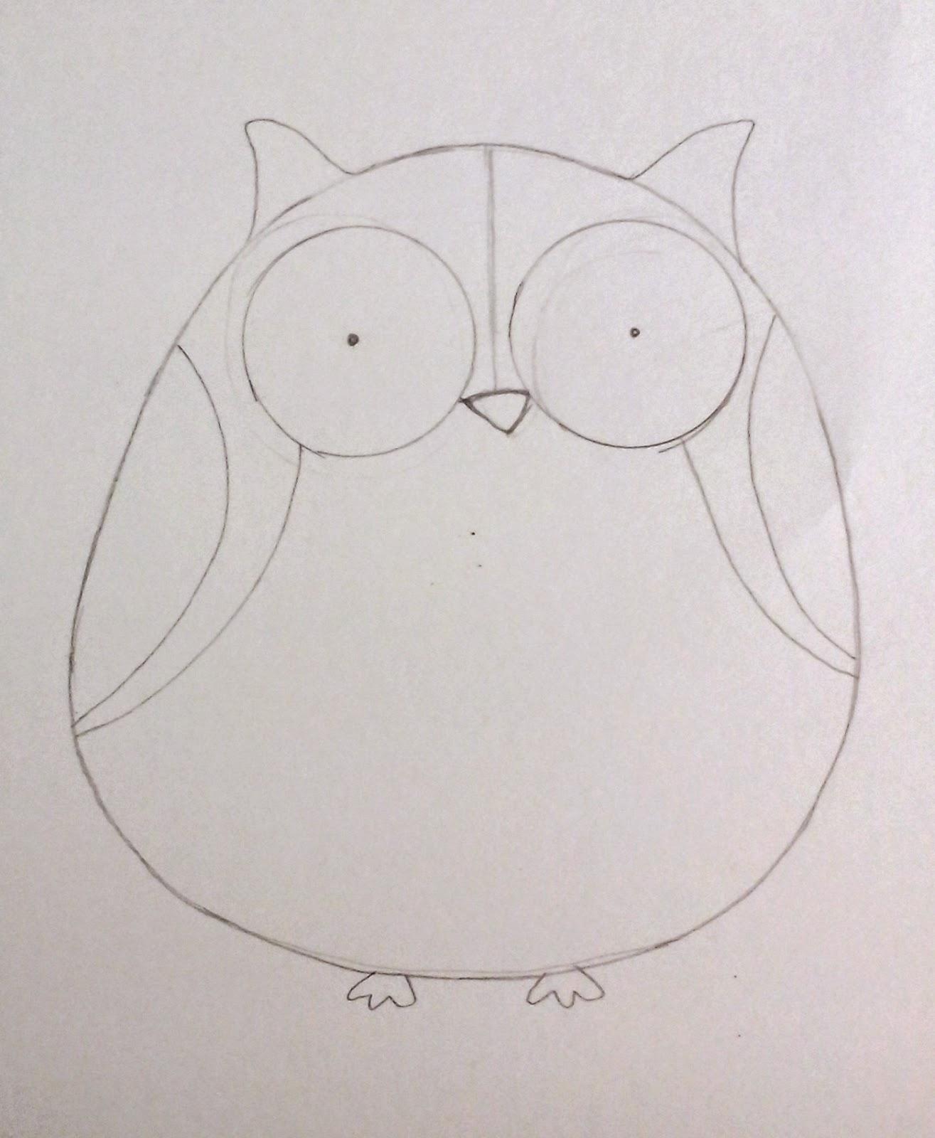[tutorial] Cómo dibujar un búho con círculos