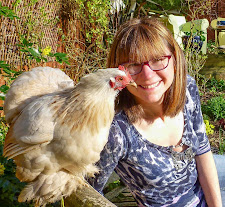 Kerrie and Sally (the chicken)