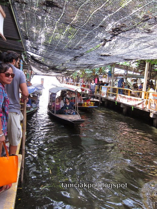 Khlong Lat Mayom, floating market in Bangkok