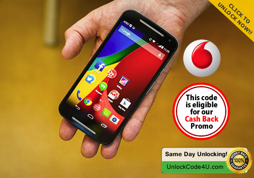 Factory Unlock Code for Moto G