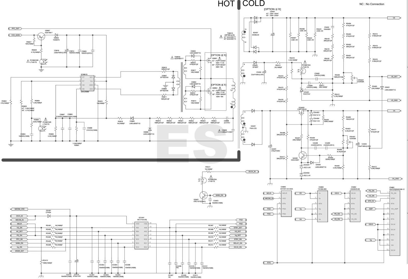 ELECTRONIC EQUIPMENT REPAIR CENTRE : SAMSUNG BN44-00330B Power ...