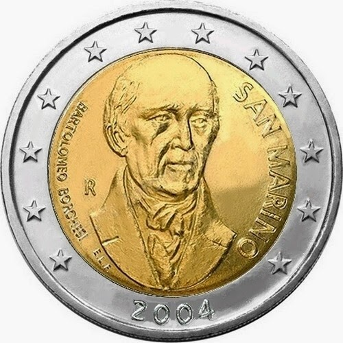 2 euro San Marino 2004, Bartolomeo Borghesi