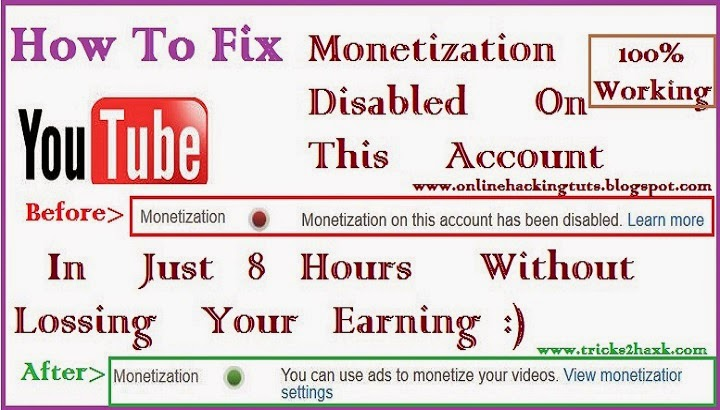 monetization_tab_disaled_on_youtube_account_fix