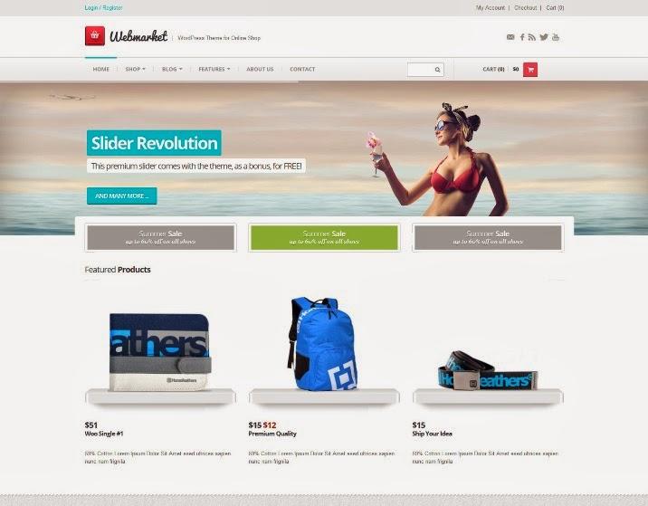 30+ Best WooCommerce WordPress Themes - Webprecis