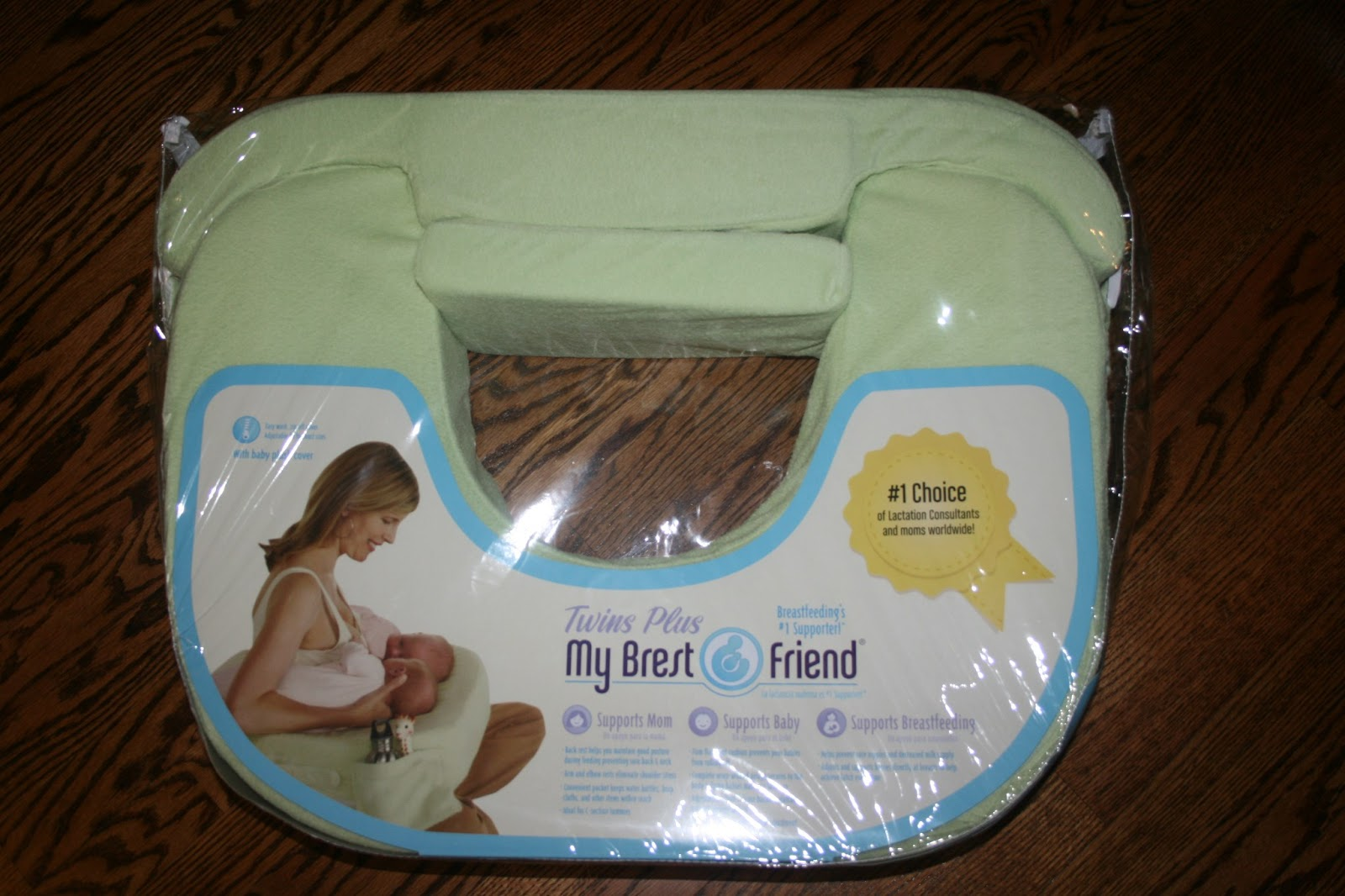 Trying To Go Green My Brest Friend Twin Nursing Pillow