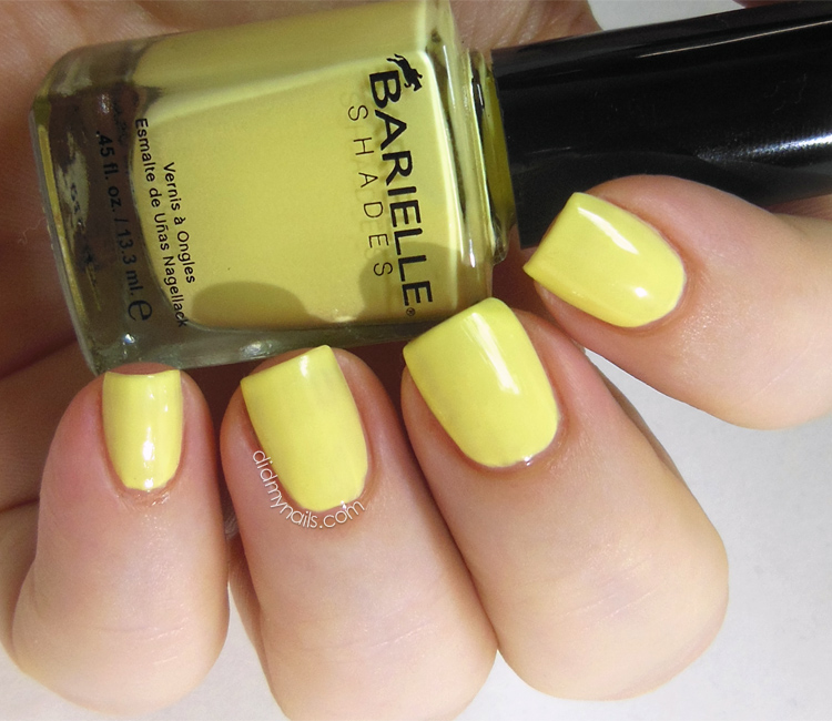 Barielle Banana Drop swatch