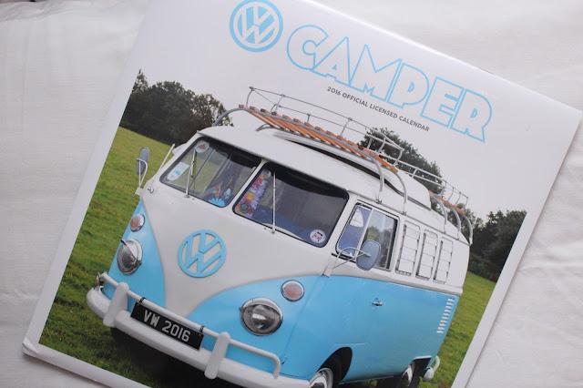 Camper van calendar 2016