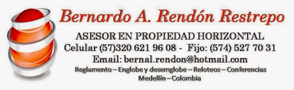 Bernardo A Rendon Restrepo