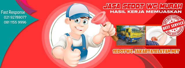 Harga Jasa Sedot WC di Jakarta Selatan