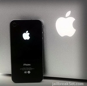 Apple logo on the back of the next iPhone