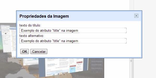 """Inserindo """"alt"""" e """"title"""" nas Imagens dos Posts no Blogger"""