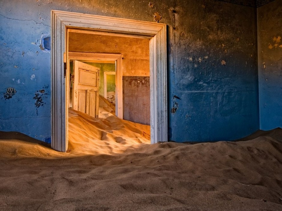 Kolmanskop, Namib Desert - 30 Abandoned Places that Look Truly Beautiful