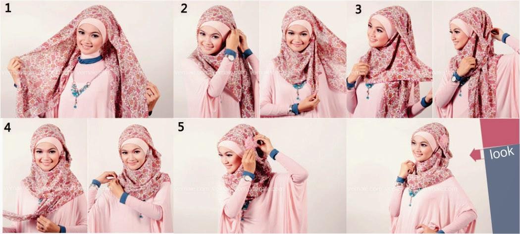 Tutorial Model Hijab 5 Pashmina