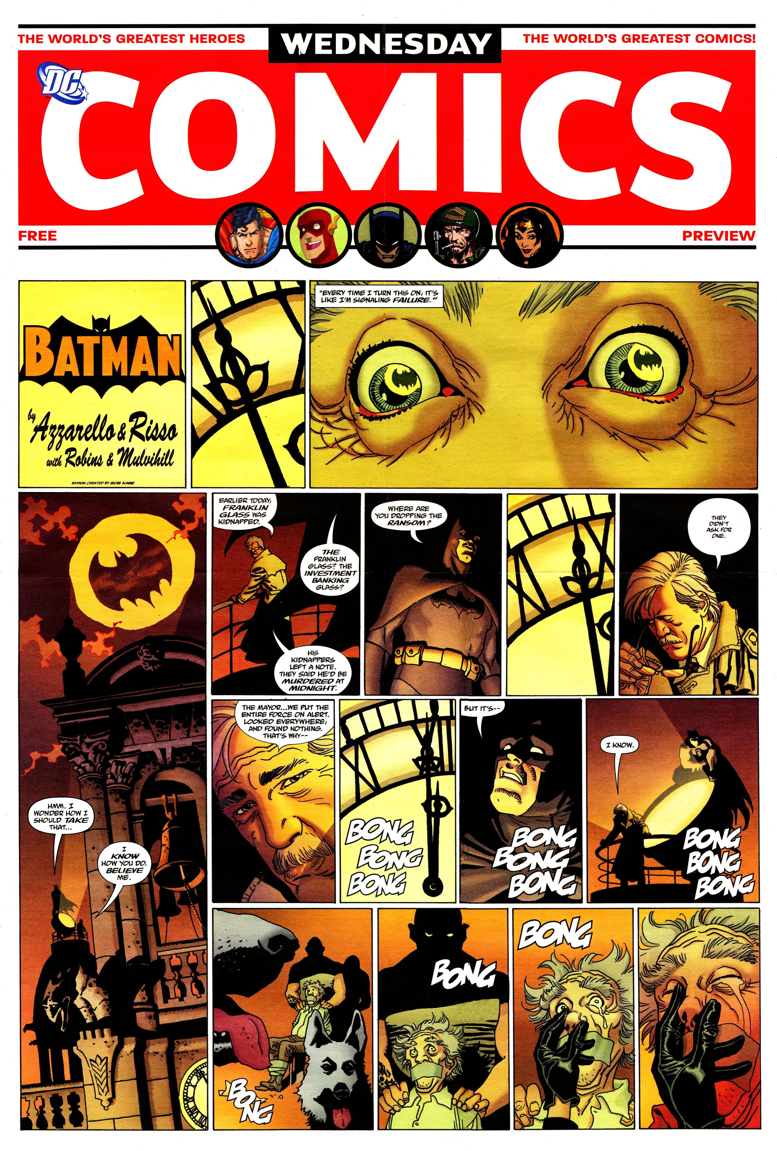 Read online Wednesday Comics comic -  Issue #0 - 1