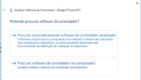 Corrigir problemas com os Drivers no Windows 10