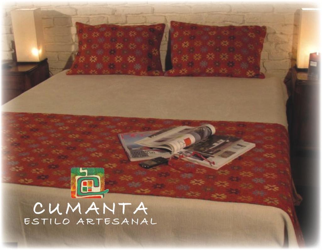 Cumanta estilo artesanal linea textil pies de cama - Mantas pie de cama ...