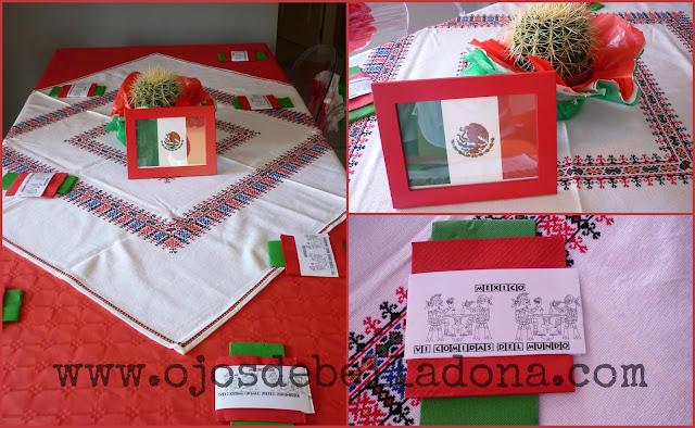 Decoración de la mesa, México