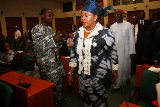 Exclusive Pictures ; Stella Oduah faces House Committee hearing over car scandal + How it went Down.