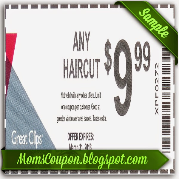 Haircut coupons canada