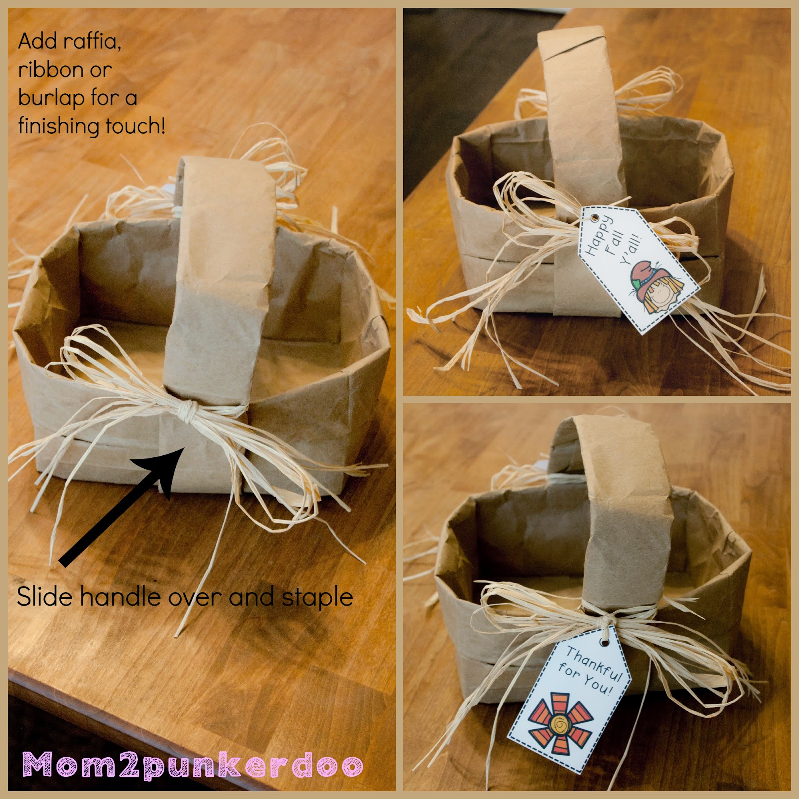 mom2punkerdoo DIY Basket