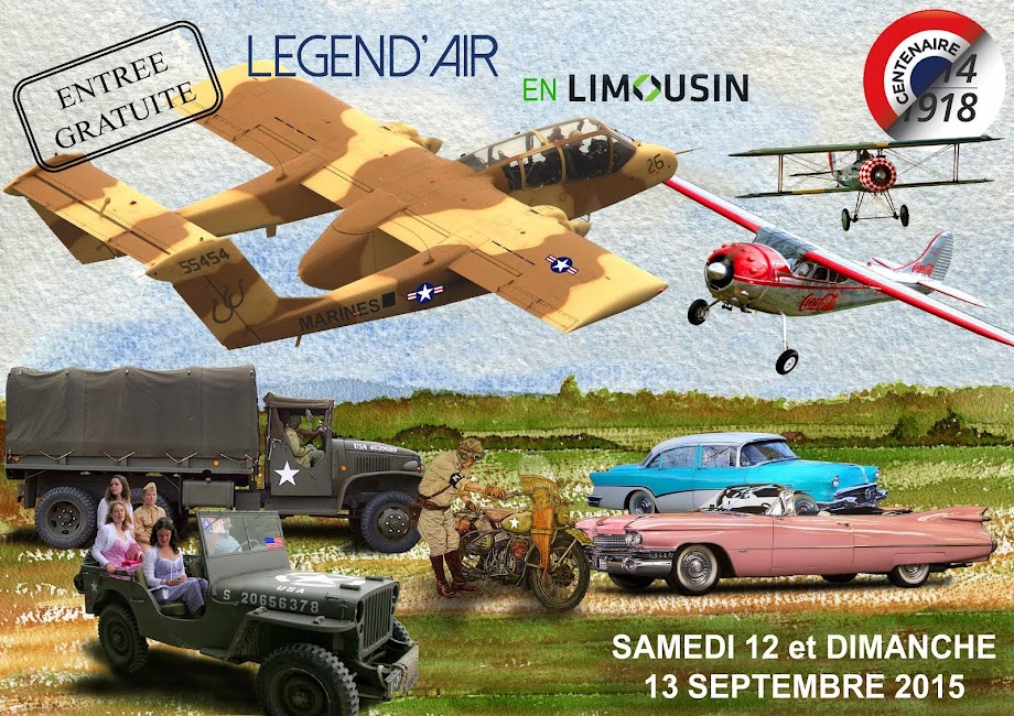 Légend'Air en Limousin