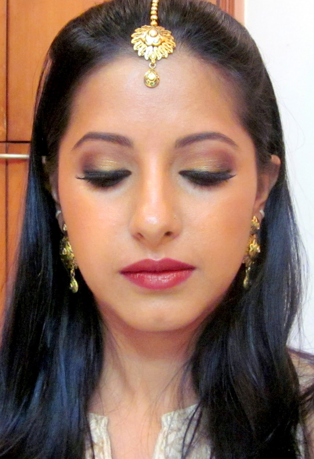 Product List for Indian Bridal Makeup Tutorial