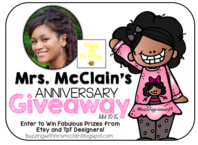 http://buzzingwithmrsmcclain.blogspot.com/2014/07/2014-anniversary-giveaway.html