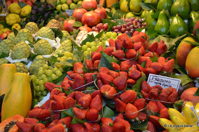 Barcelone - marche de la Bocqueria - fruits