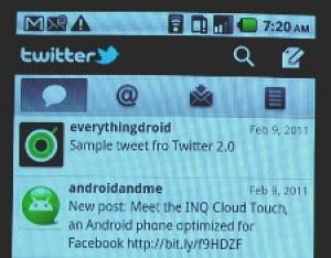 Twitter Android Update Versi 2.0