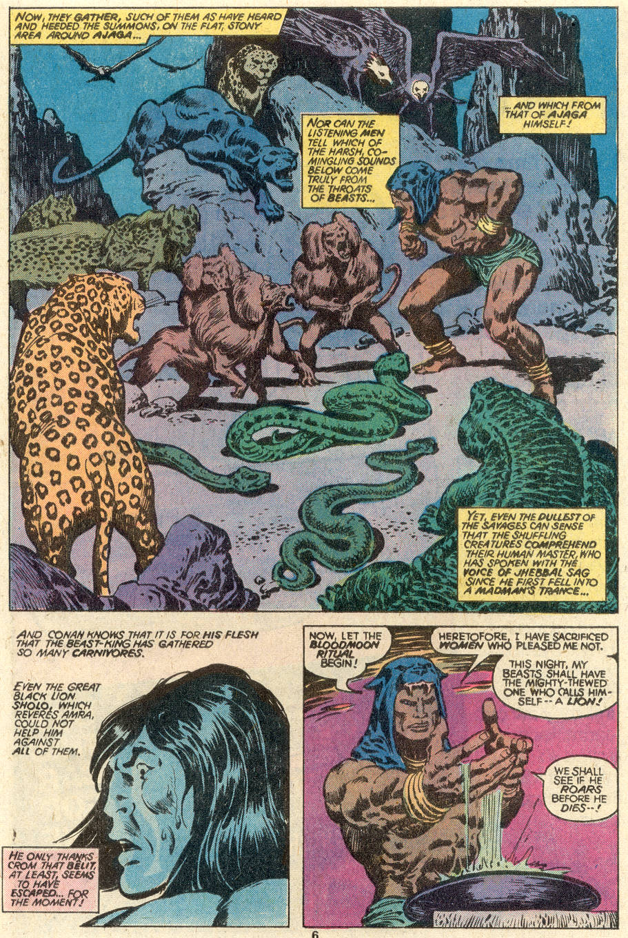 Conan the Barbarian (1970) Issue #97 #109 - English 5