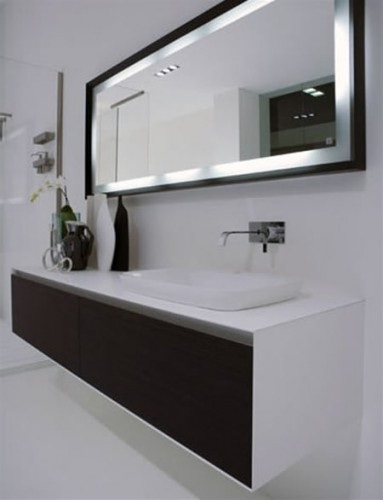 Extractor Baño Pequeno:Modern Bathroom Mirrors