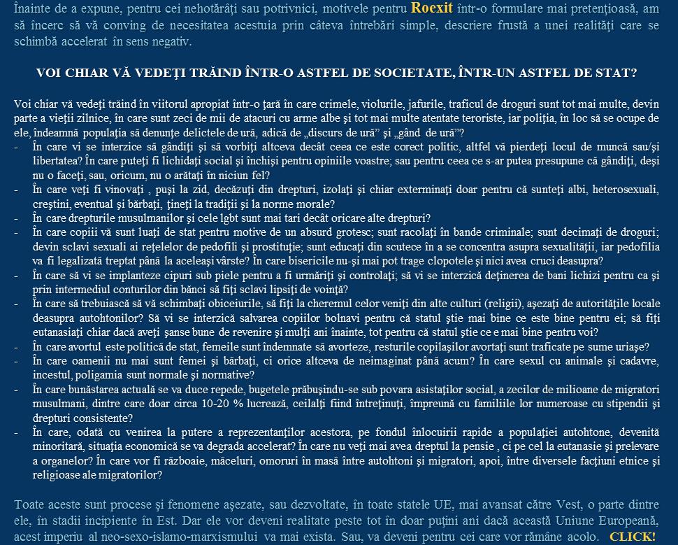 Paul Ghiţiu �� Să facem România Mare din nou, ieșind din UE - 14 motive pentru RoExit (I)