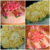 Kelas Butercream & roses