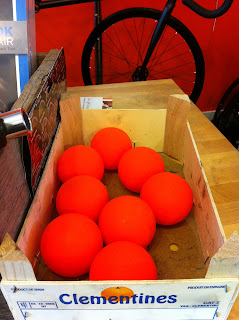 Bike polo hot balls at Reser Bicycle Outfitters OTR