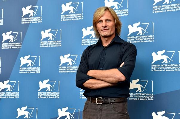 Viggo Mortensen en Venecia