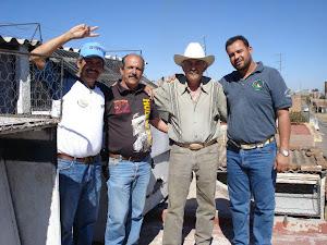 Pancho, Daniel, Mike y Miguel.