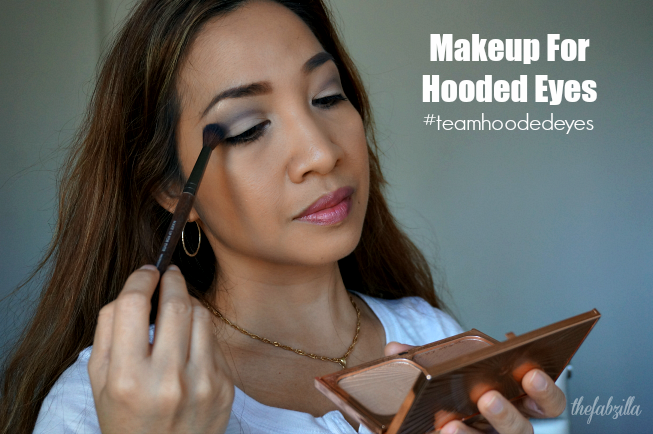 Makeup for Hooded Eyes #teamhoodedeyes Tutorial, How-to, Tips for Hooded Eyes