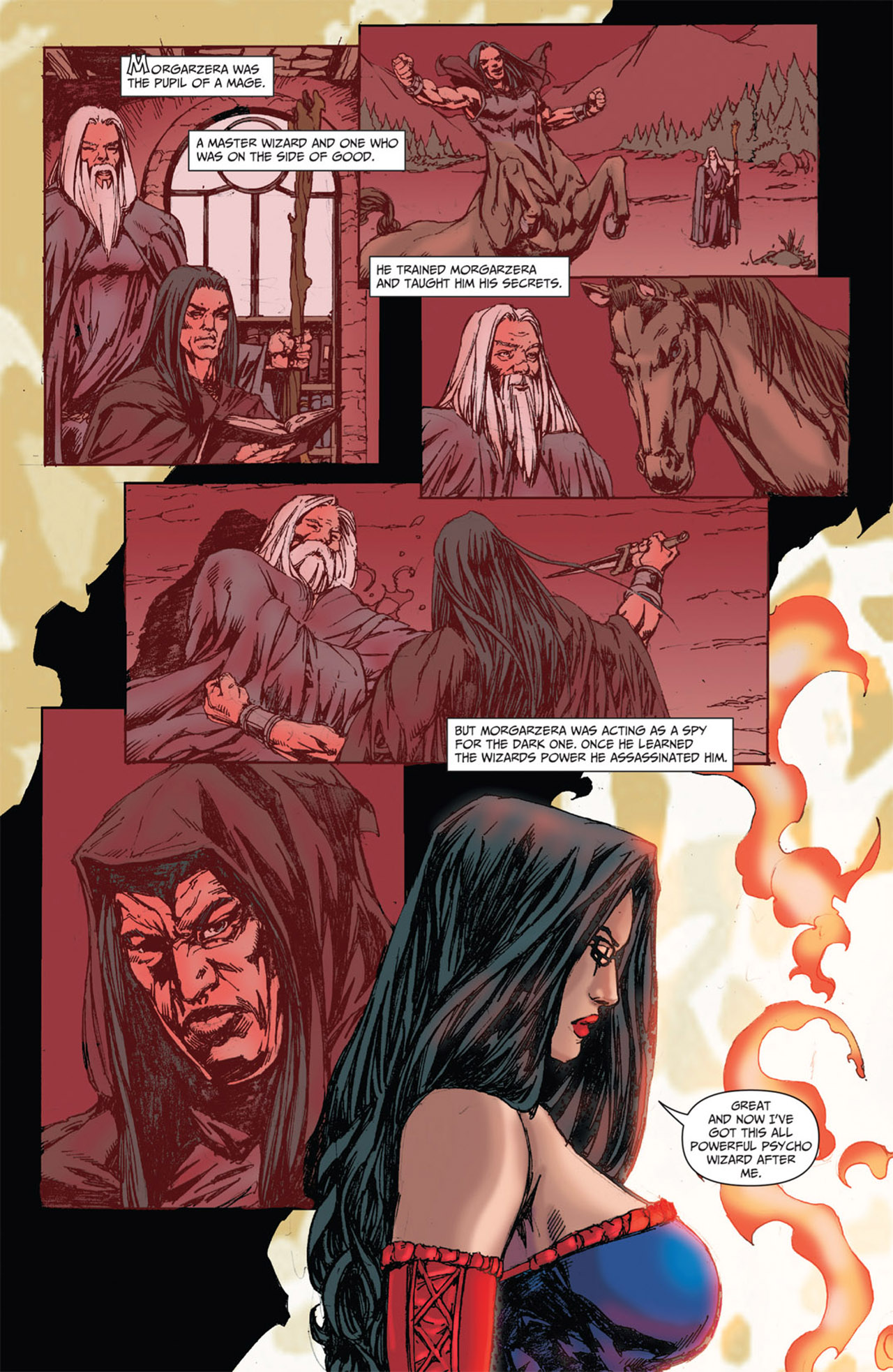Grimm Fairy Tales (2005) Issue #51 #54 - English 23